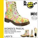 ドクターマーチン Dr.Martens レディース パスカル 8ホール ブーツ WOMEN'S PASCAL 8 EYE BOOT レザー レースアップブーツ R13512701 イエロー