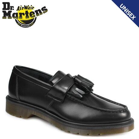 ドクターマーチン ローファー タッセル メンズ レディース Dr.Martens ADRIAN R14573001 ブラック