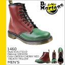 ドクターマーチン Dr.Martens 1460 8ホール ブーツ レザー メンズ レースアップブーツ R16173310 グリーン チェリーレッド