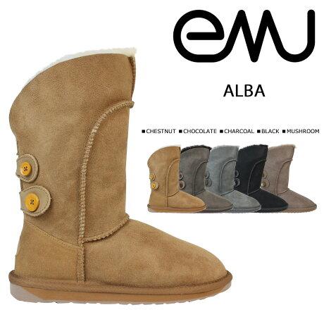 emu エミュー ムートンブーツ アルバ ALBA W10088 レディース ブーツ