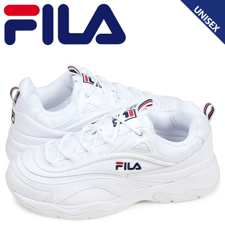 FILA フィラ フィラレイ スニーカー メンズ レディース FILARAY ホワイト 白 FS1SIA1160X [予約商品 3/13頃入荷予定 新入荷]