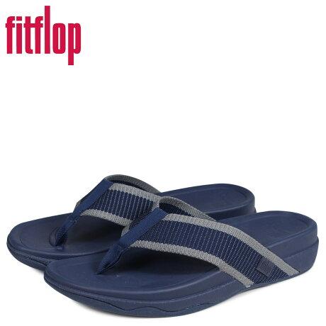 FitFlop フィットフロップ サンダル トングサンダル サーファー メンズ SURFER ネイビー J41 [予約商品 3/20頃入荷予定 新入荷]
