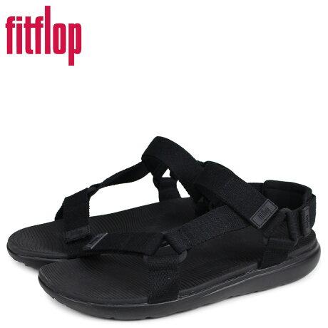 FitFlop フィットフロップ サンダル スポーツサンダル サーファー メンズ BREES ブラック 黒 V91 [予約商品 3/20頃入荷予定 新入荷]