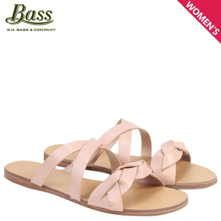 G.H. BASS サンダル レディース ジーエイチバス フラット SCARLETT SLIDE SANDAL 71-21461 靴 ピンク [6/22 新入荷]