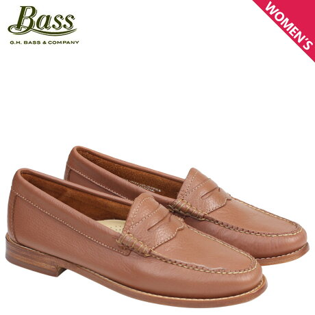 G.H. BASS ローファー ジーエイチバス レディース WHITNEY WEEJUNS 71-22822 靴 ブラウン