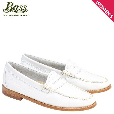 G.H. BASS ローファー ジーエイチバス レディース WHITNEY WEEJUNS 71-22830 ホワイト