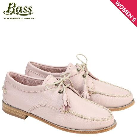 G.H. BASS ローファー ジーエイチバス レディース タッセル WINNIE TIE WEEJUNS 71-22871 靴 ピンク