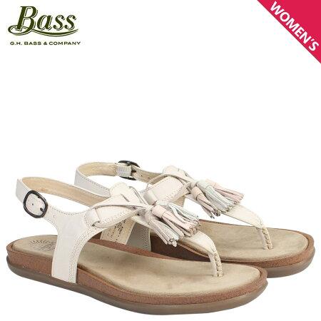 G.H. BASS サンダル レディース ジーエイチバス トング Tストラップ SADIE T-STRAP SUNJUNS 71-23000 靴 クリーム