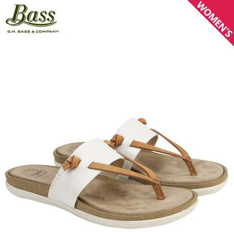 G.H. BASS サンダル レディース ジーエイチバス トングサンダル SHANNON THONG SUNJUNS 71-23010 靴 ホワイト