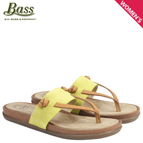 G.H. BASS サンダル レディース ジーエイチバス トングサンダル SHANNON THONG SUNJUNS 71-23013 靴 イエロー