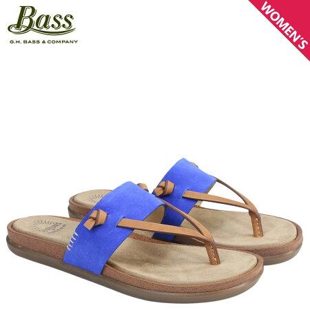 G.H. BASS サンダル レディース ジーエイチバス トングサンダル SHANNON THONG SUNJUNS 71-23016 靴 ブルー [6/