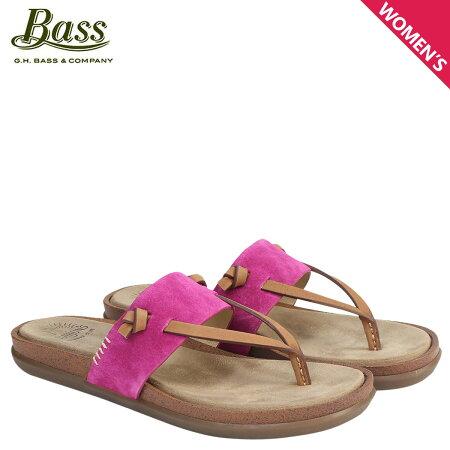 G.H. BASS サンダル レディース ジーエイチバス トングサンダル SHANNON THONG SUNJUNS 71-23018 靴 ピンク [6/