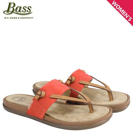G.H. BASS サンダル レディース ジーエイチバス トングサンダル SHANNON THONG SUNJUNS 71-23019 靴 オレンジ