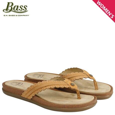 G.H. BASS サンダル レディース ジーエイチバス トングサンダル SAMANTHA SCALLOPED SUNJUNS 71-23032 靴 ブラウン