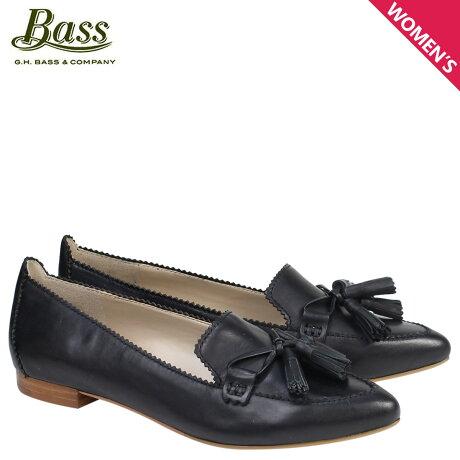 G.H. BASS ローファー ジーエイチバス レディース タッセル KELSEY TASSEL LOAFER 71-23434 靴 ブラック