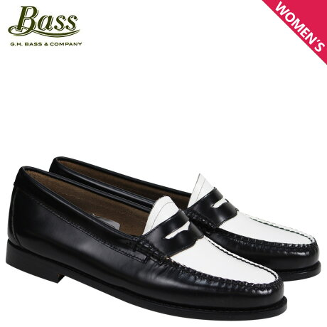 G.H. BASS ローファー ジーエイチバス レディース WEEJUNS PENNY LOAFERS BA41010-001 ブラック