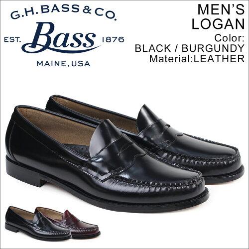 G.H. BASS ローファー ジーエイチバス メンズ LOGAN 70-10944 70-10949 靴 2カラー [10/21 再入荷]