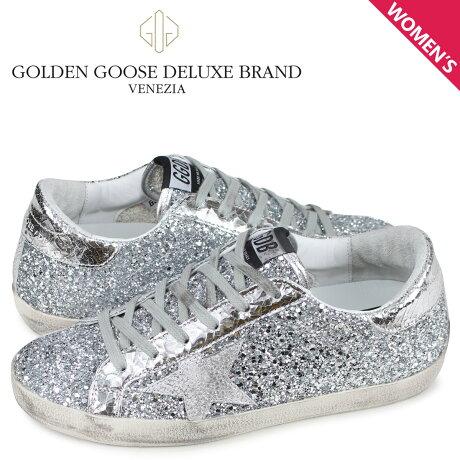 ゴールデングース Golden Goose スニーカー スーパースター レディース SNEAKERS SUPERSTAR シルバー G34WS590 M89 [予約商品 3/4頃入荷予定 新入荷]