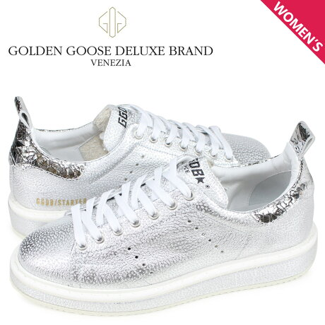 ゴールデングース Golden Goose スニーカー スターター レディース SNEAKERS STARTER シルバー G34WS631 O6 [予約商品 3/4頃入荷予定 新入荷]
