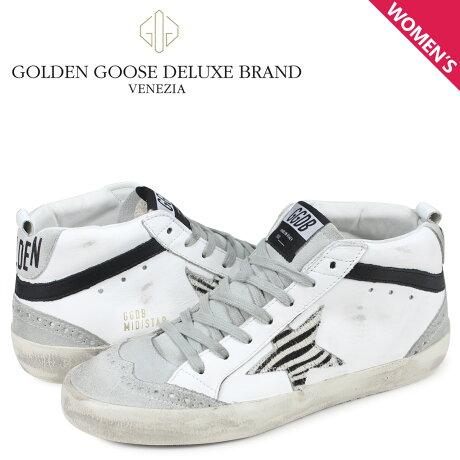 ゴールデングース Golden Goose スニーカー ミッド スター レディース SNEAKERS MID STAR ホワイト G34WS634 O7 [予約商品 3/4頃入荷予定 新入荷]