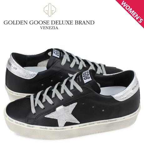 ゴールデングース Golden Goose スニーカー ハイ スター レディース 厚底 SNEAKERS HI STAR ブラック G34WS945 B9 [予約商品 3/4頃入荷予定 新入荷]