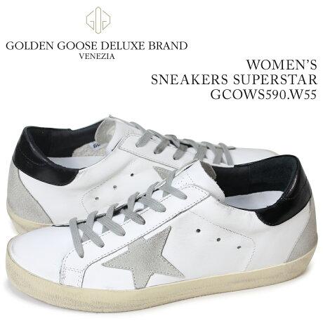 ゴールデングース Golden Goose スニーカー レディース スニーカー ズ スーパースター SNEAKERS SUPERSTAR ホワイト GCOWS590 W55 [予約商品 3/4頃入荷予定 再入荷]