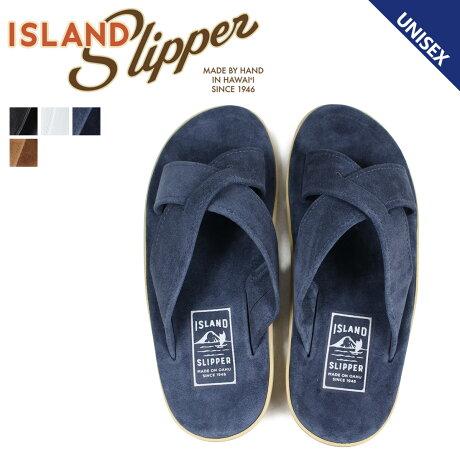 アイランドスリッパ ISLAND SLIPPER サンダル メンズ レディース レザー スエード SLIDE PB223 PT223 [予約商品 4/5頃入荷予定 追加入荷]
