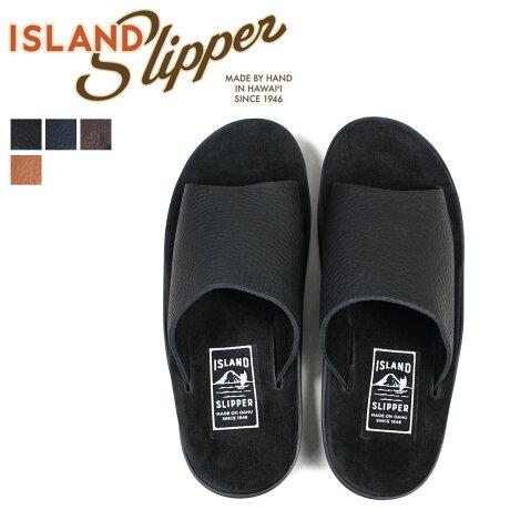 アイランドスリッパ ISLAND SLIPPER サンダル メンズ スエード BULL HIDE SLIDE PBS705BH PTS705BH [3/22 新入荷]