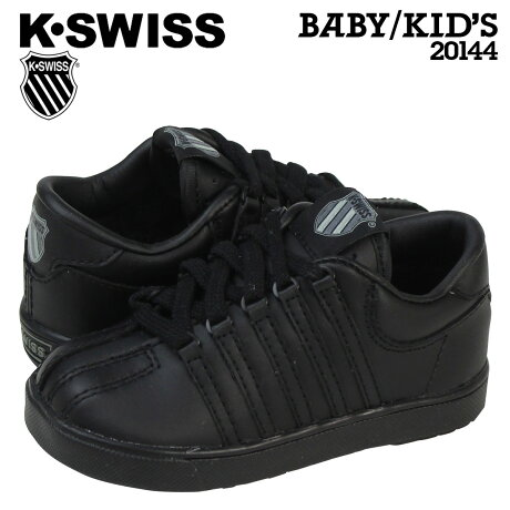 ケースイス K-SWISS キッズ スニーカー CLASSIC CHILD 20144 ブラック 【9000足】 【決算セール】