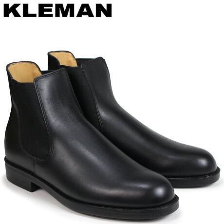 KLEMAN クレマン BAULANI 靴 サイドゴア ブーツ メンズ SIDE GORE BOOTS ブラック VA71102 [予約商品 4/3頃入荷予定 再入荷]