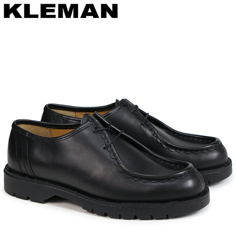 KLEMAN クレマン PADROR 靴 チロリアン シューズ メンズ TYROLEAN SHOES ブラック VA72102 [予約商品 4/3頃入荷予定 再入荷]
