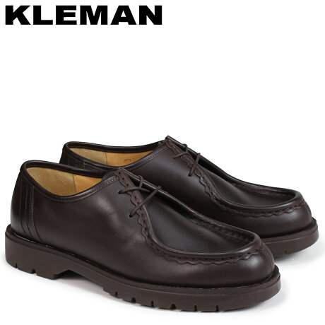 KLEMAN クレマン PADROR 靴 チロリアン シューズ メンズ TYROLEAN SHOES ブラウン VA72107 [予約商品 4/3頃入荷予定 再入荷]