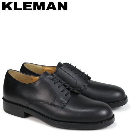 KLEMAN クレマン PASTANI 靴 プレーントゥ シューズ メンズ PLAIN TOE SHOES ブラック VA73102 [予約商品 4/3頃入荷予定 再入荷]