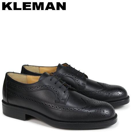 KLEMAN クレマン SUFOLO 靴 ウイングチップ シューズ メンズ WING TIP SHOES ブラック VA75102