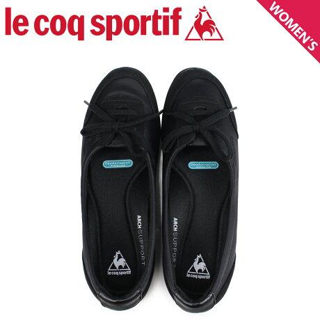 ルコック スポルティフ le coq sportif スニーカー イエナ4 レディース IENA 4 ブラック QFM-7312BK