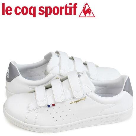 ルコック スポルティフ le coq sportif スニーカー LA ローラン ベルト メンズ LA ROLAND SL BELT ホワイト 白 QL1LJC17WG