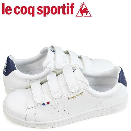 ルコック スポルティフ le coq sportif スニーカー LA ローラン ベルト メンズ LA ROLAND SL BELT ホワイト 白 QL1LJC17WN