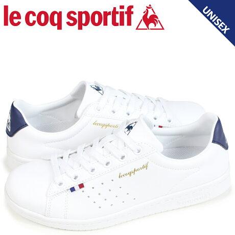 ルコック スポルティフ le coq sportif メンズ レディース スニーカー LA ローラン LA ROLAND LE ホワイト QMT-7314WN