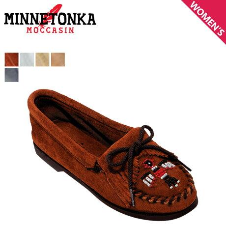 ミネトンカ モカシン MINNETONKA サンダーバード ボートソール THUNDERBIRD BOAT SOLE レディース