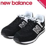 ニューバランス574レディースnewbalanceスニーカーKL574SKGMワイズ靴ブラック