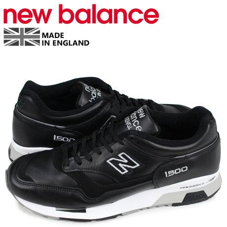 ニューバランス new balance 1500 スニーカー メンズ Dワイズ MADE IN UK ブラック 黒 M1500BK [予約商品 4/10頃入荷予定 新入荷]