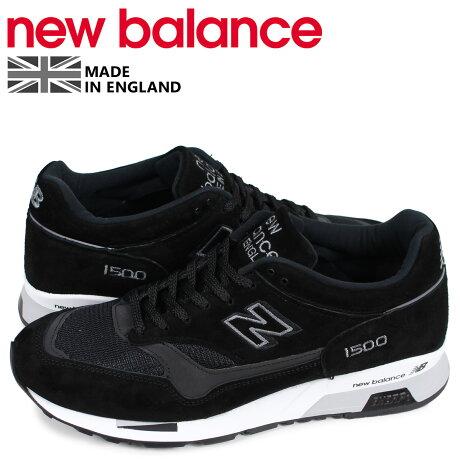 ニューバランス new balance 1500 スニーカー メンズ Dワイズ MADE IN UK ブラック 黒 M1500JKK [予約商品 4/10頃入荷予定 新入荷]