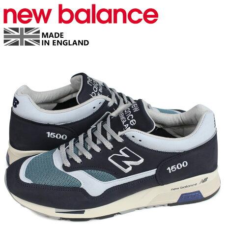 ニューバランス new balance 1500 スニーカー メンズ Dワイズ MADE IN UK ネイビー M1500OGN [予約商品 4/10頃入荷予定 新入荷]