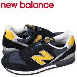 newbalanceニューバランス996MADEINUSAスニーカーM996CSMIDワイズメンズ靴ブラック