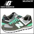 ニューバランス new balance 574 スニーカー ML574CPF Dワイズ メンズ 靴 グレー