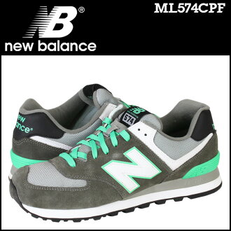 [最大2016日圆OFF]新平衡new balance 574運動鞋ML574CPF D WISEMEN鞋灰色