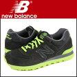 ニューバランス new balance 574 スニーカー ML574KNR Dワイズ メンズ 靴 ブラック