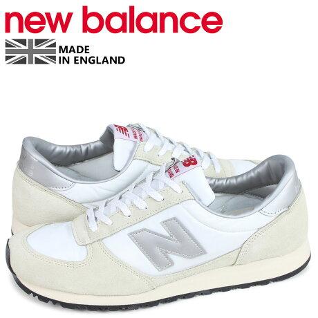 ニューバランス new balance スニーカー メンズ Dワイズ MADE IN UK ホワイト 白 MNCWSV [予約商品 3/26頃入荷予定 新入荷]