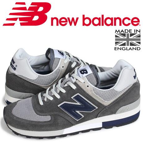 ニューバランス 576 メンズ new balance スニーカー OM576OGG Dワイズ MADE IN UK グレー [7/6 新入荷]