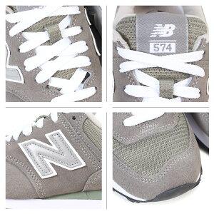 ニューバランスnewbalance574レディーススニーカーW574GSBワイズDワイズメンズ靴グレー